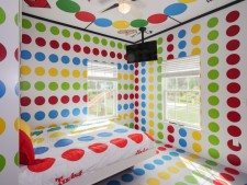 The Twister Bedroom