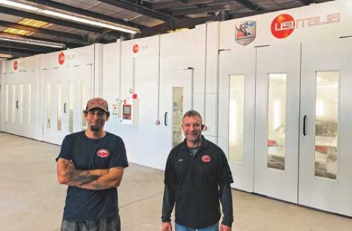 Martin's Collision Center Acquires USI America Booth, Now Reaping Benefits