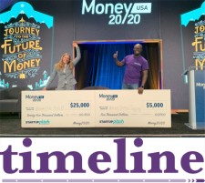 Timeline Wins Second Place at Money20/20 Startup Academy Competition in Las Vegas