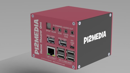 PI2MEDIA HT1 - Surround Sound Home Theater PC Launches on the Crowdfunding Site Indiegogo