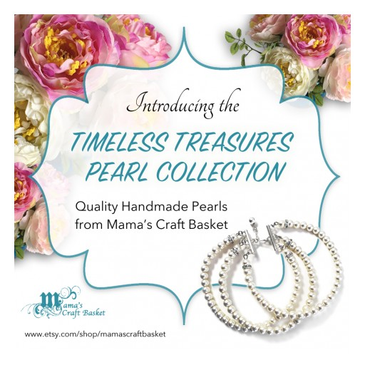 Mama's Craft Basket Releases Timeless Treasures Pearl Collection