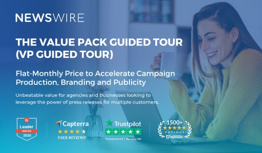 Event and Entertainment Agencies Reopen Summer Season Through Newswire's Value Pack Guided Tour