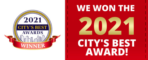 Alencar Family Dentistry Wins 2021 City's Best Award
