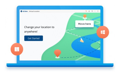 Product Update: Wondershare Dr.Fone Has Released an iPhone GPS Changer Application for Mac