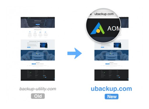 AOMEI Backupper Official Website Migrated From Backup-utility.com to Ubackup.com