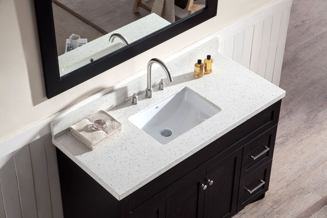 Bathroom Vanities Quartz Top Home Design Ideas