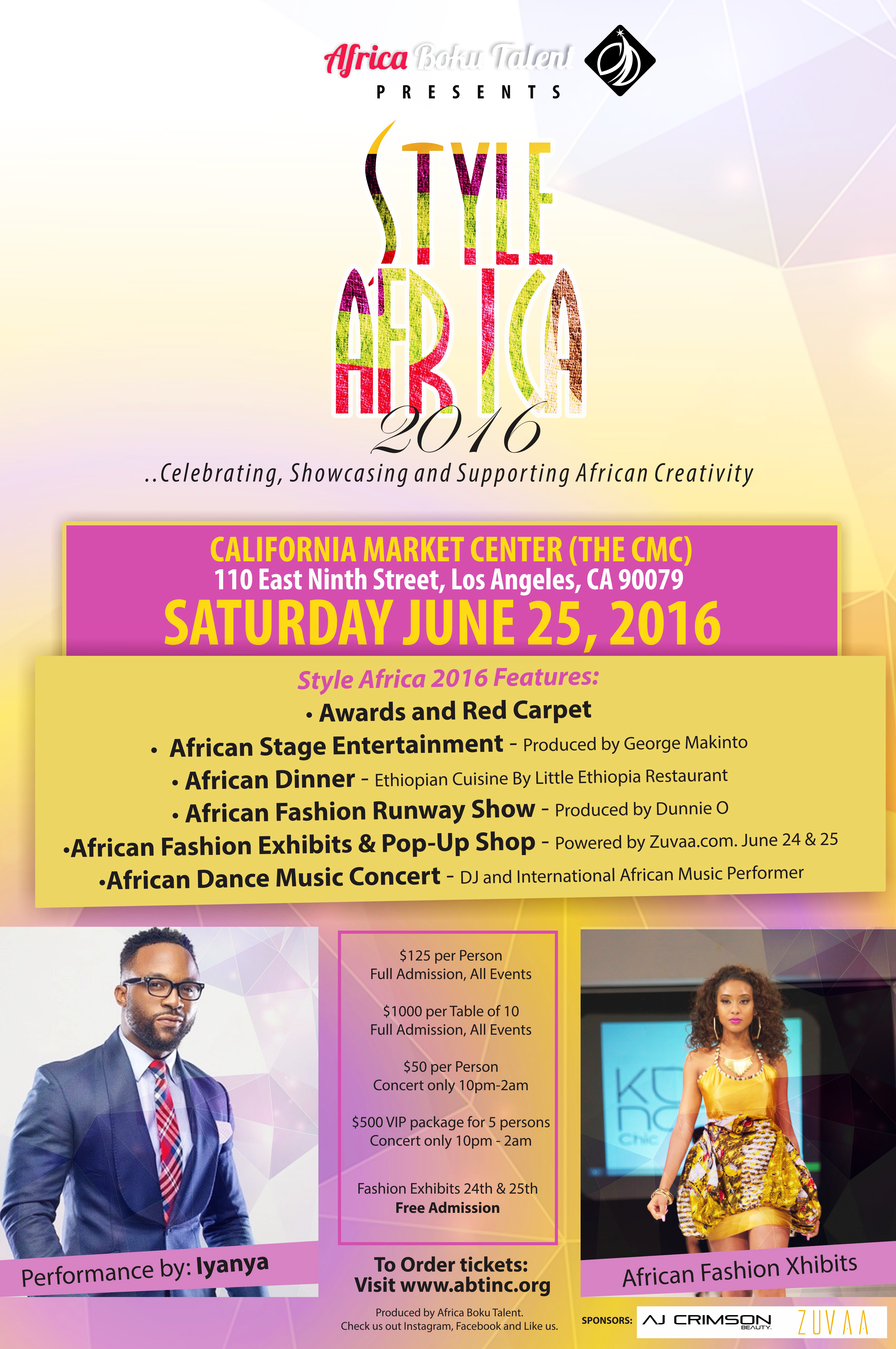 Style Africa 2016 Showcasing and Supporting African Creativity