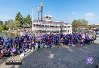 Epilepsy Awareness Day at Disneyland 2019 on the Mark Twain Steamboat