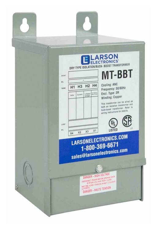 Larson Electronics Releases Hazardous Location 5 kVA Isolation Transformer, 460V 1PH Primary