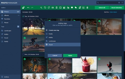 Movavi Photo Manager - Organize Photo Collections Instantly