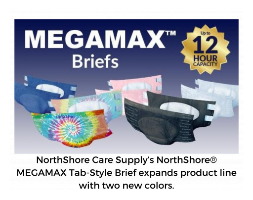 Incontinence Products Leader NorthShore Launches 2 New Colors in Top-Rated MEGAMAX™ Product Line With SiriusXM Radio Campaign