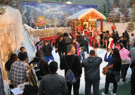 Hollywood Enjoys a White Christmas at L. Ron Hubbard's Winter Wonderland