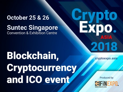 All of the Cryptocurrency World Will Gather in One Place in Singapore, Autumn 2018!