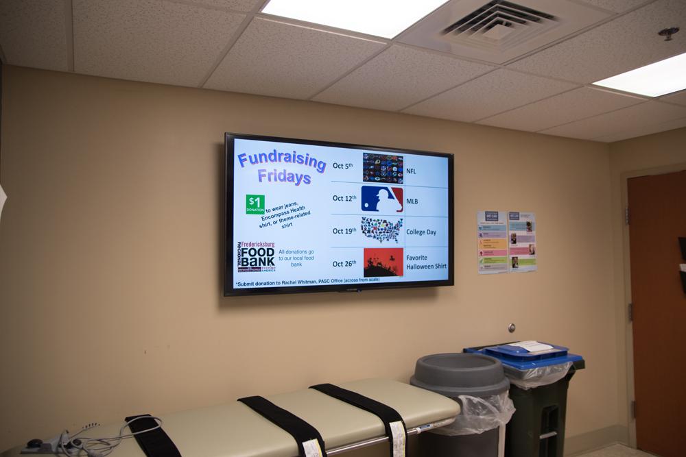 Mvix Digital Signage Boosts Employee Communication at Virginia Rehab