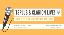 Don't miss TSplus & ClarionLive! Webinar - Sept. 6 at 6 p.m.