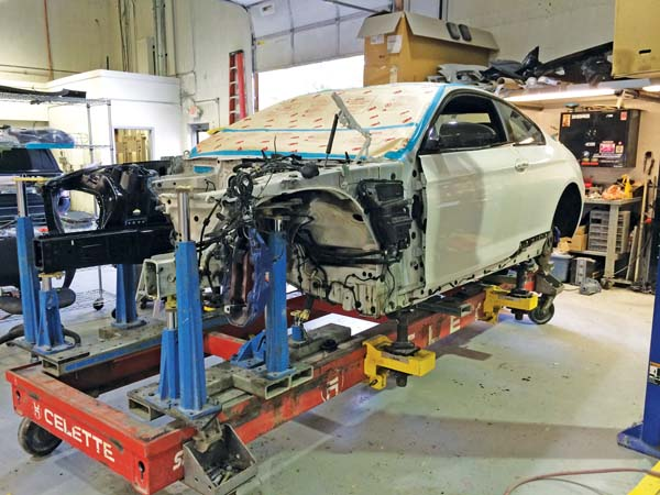 Autobody News Automark Collision Relies Exclusively On