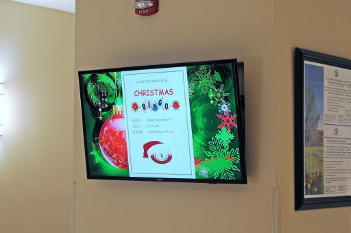 Digital Signage Boosts Communication With Residents at Habitat America