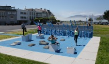 National Fitness Campaign Fitness Court Featured in San Francisco