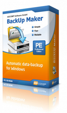 BackUp Maker for Windows 10, 8 and 7