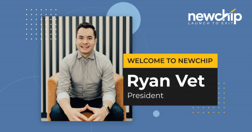 Newchip Accelerator Hires Seasoned Startup Executive, Ryan Vet, as President