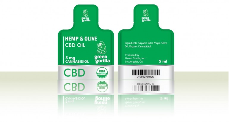 Green Gorilla Debuts 'Hemp & Olive' Single Serving CBD Packs PressRelease.com