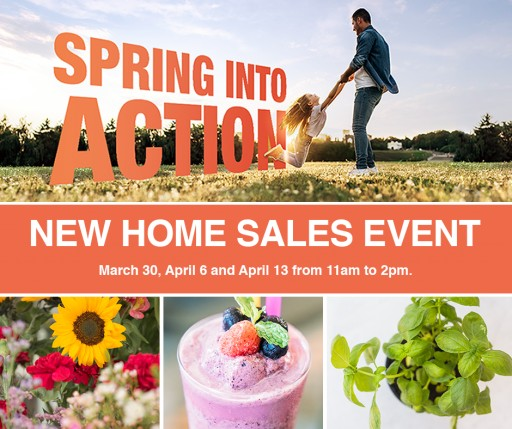 Spring Into Action With Olson Homes During the New Home Sales Event