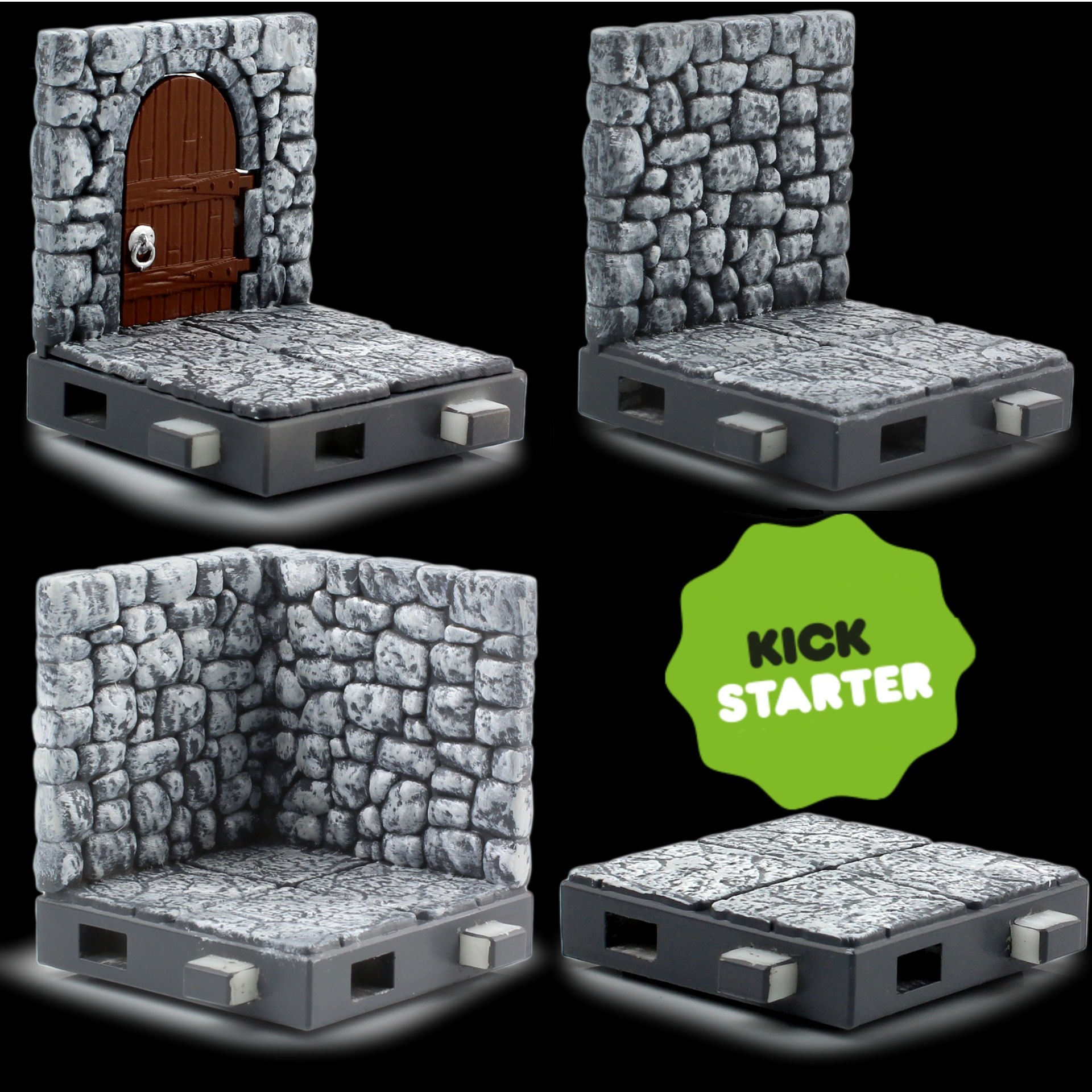 Zfigs Dungeon Tiles,' Toy Vault's Affordable Tabletop Gaming Terrain