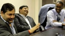 Guptas brothers at court