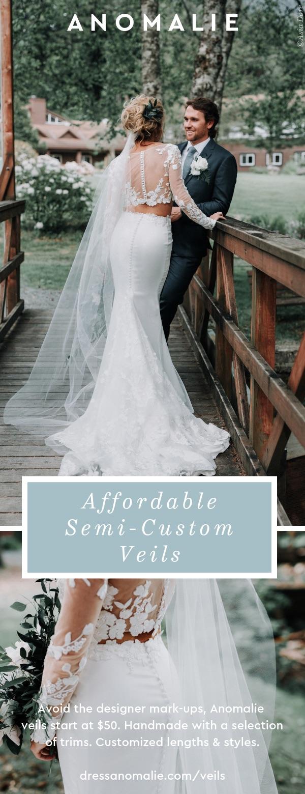 Anomalie A Direct To Consumer Custom Wedding Dress Brand Announces Their Newest Online Venture Semi Custom Veils Pressrelease Com