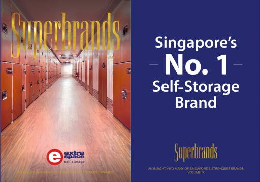 Extra Space Asia Takes First Place in the Superbrands Awards for Two Consecutive Years