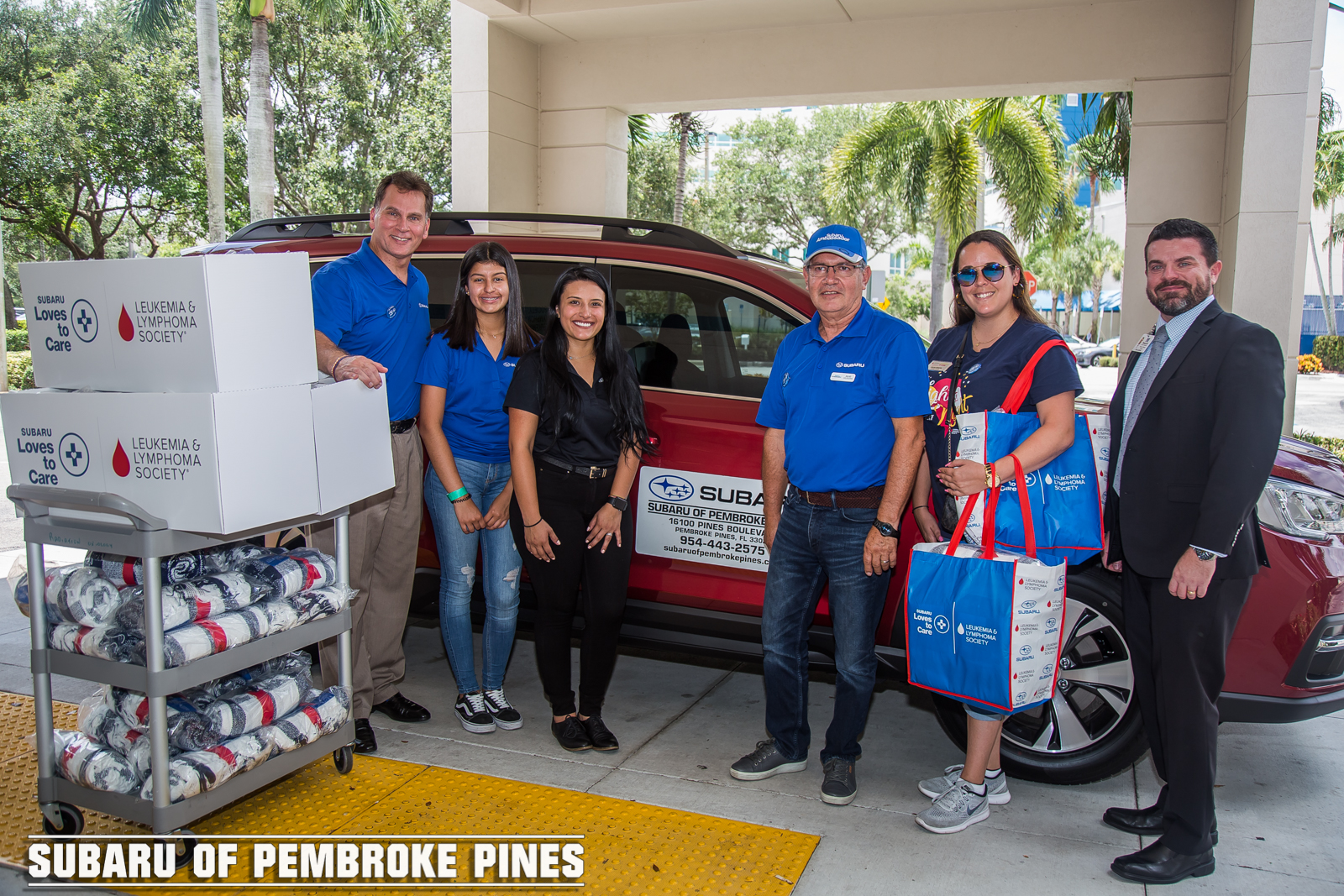 Subaru Of Pembroke Pines >> Subaru Of Pembroke Pines And The Leukemia Lymphoma Society