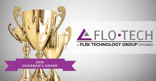 Flo-Tech Named the 2018 Recipient of the Flex Technology Group Chairman's Award