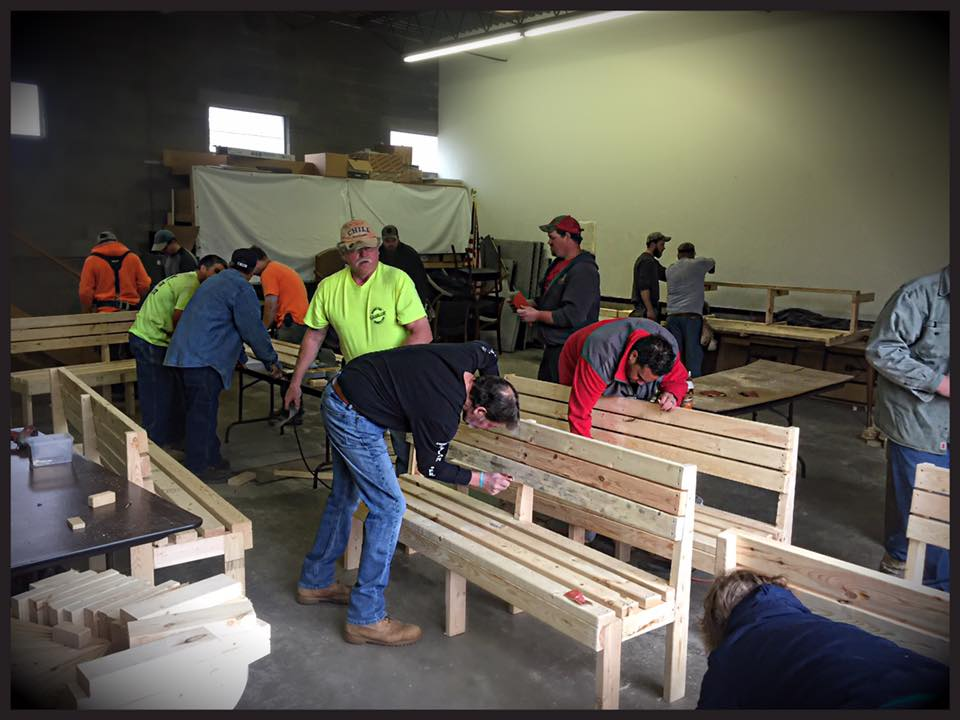 Union carpenters local 277 volunteer to 39 buddy up 39 with - Carpenter funds administrative office ...