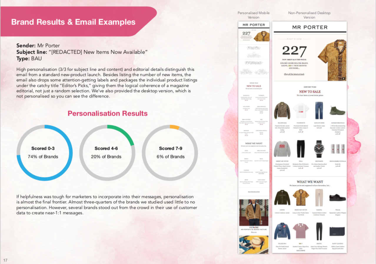 New Research Links Email Engagement to Customer-Experience Email