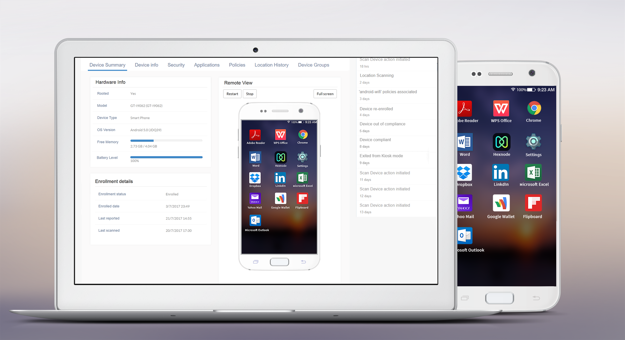 Hexnode MDM Announces Support for Remote Control in Samsung