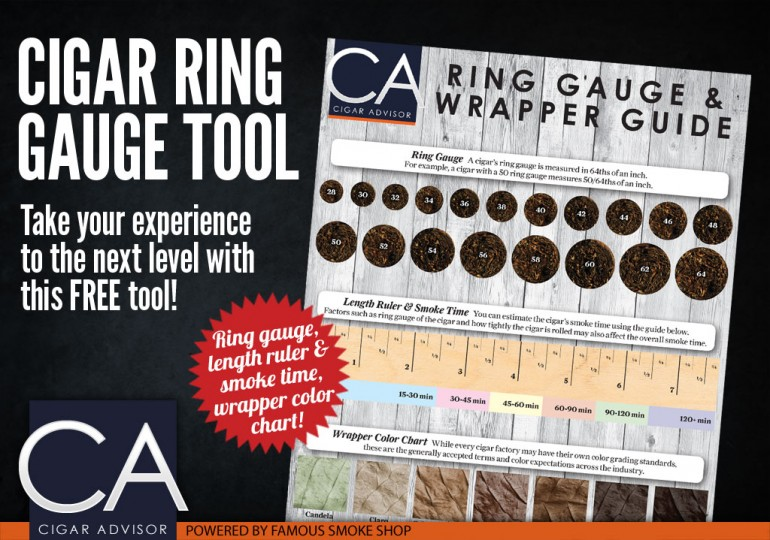 famous smoke shop bows downloadable cigar ring gauge wrapper guide