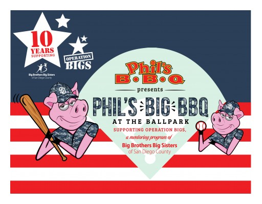 Tenth Annual Phil's Big BBQ at the Ballpark Benefiting Big Brothers Big Sisters of San Diego County