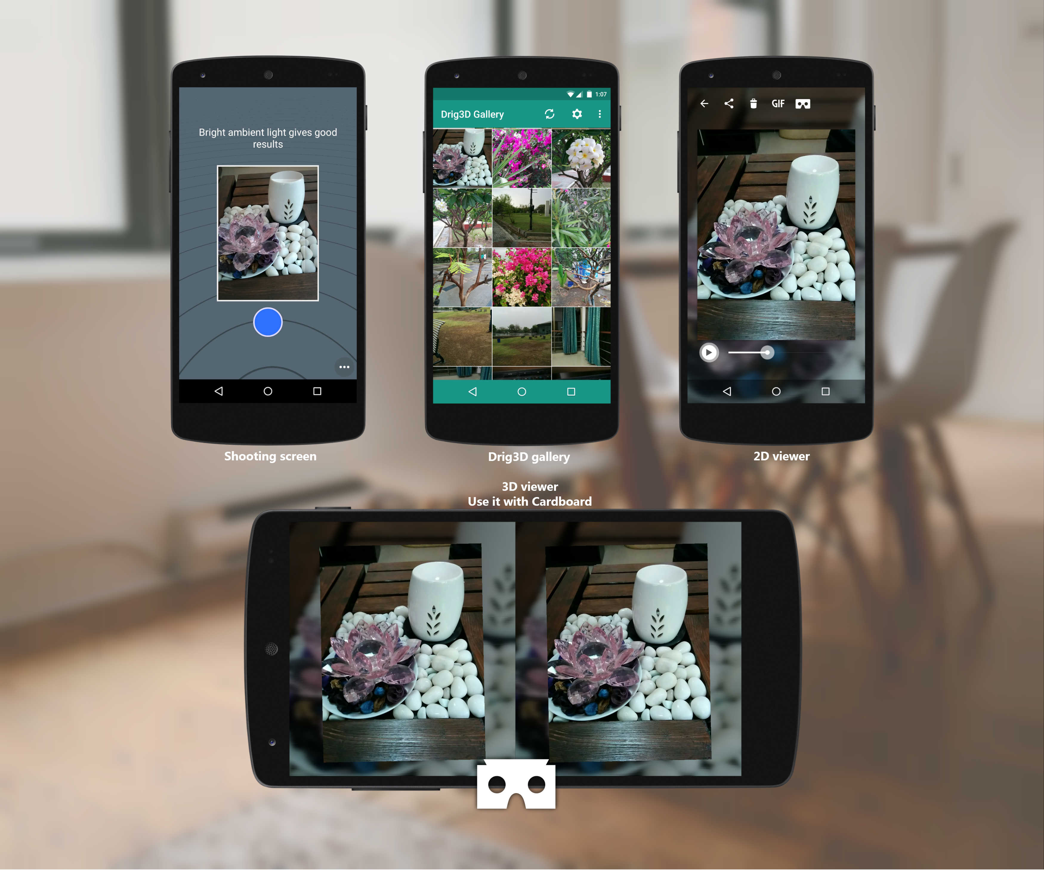 12df808cee92 Dwaravati Launched 3D Camera App That Works With Google Cardboard ...