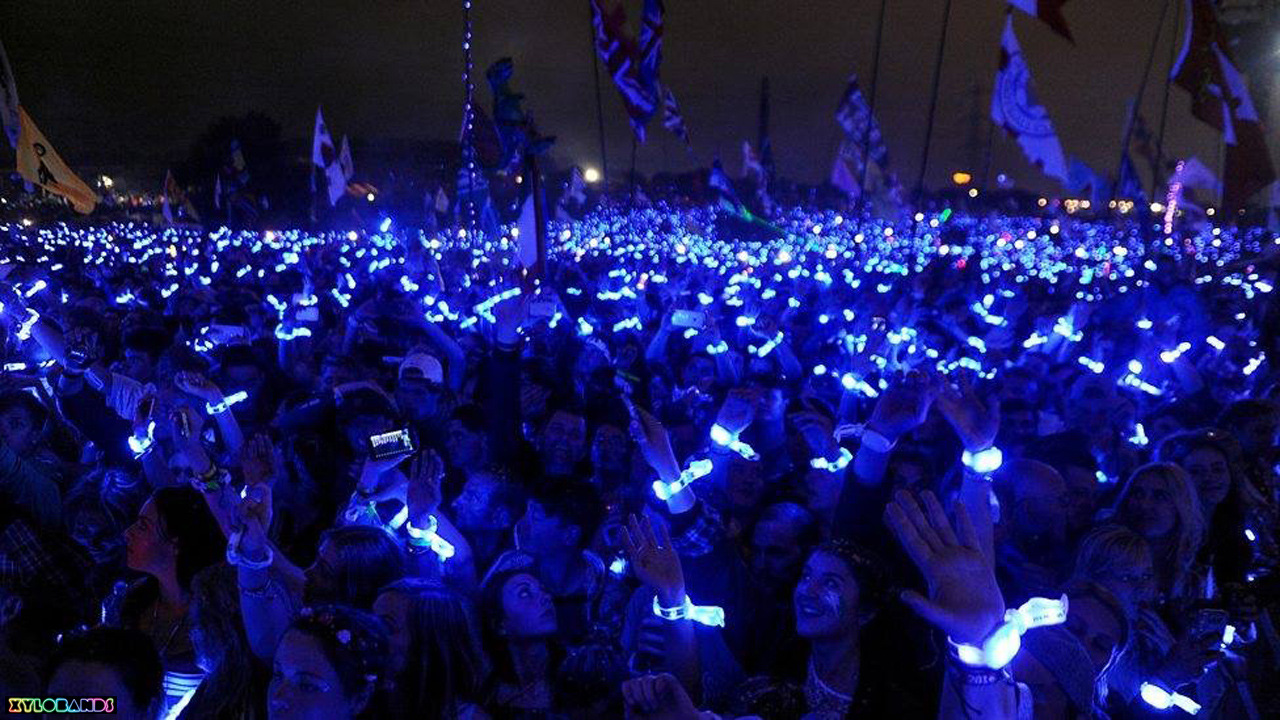 Coldplay Wristbands Light Up Aunces
